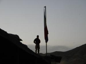 Ultimo ammaina Bandiera alla Fob di Musahy