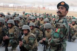 Cerimonia di fine addestramento Kabul 22 nov 09 (foto USFA)