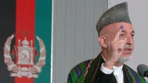 Karzai al voto - copyright np 2010