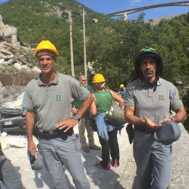 Eroi, soccorritori di Capodaqua