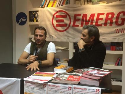 Con Mario Spallino