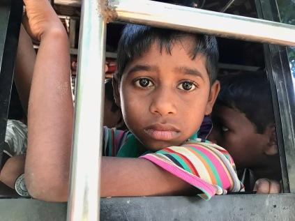 Bimbo rohingya appena arrivato in Bangladesh