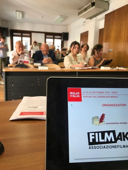 Stampa Romana e Associazione Filmaker