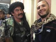 Con un miliziano sciita